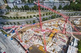 Standing Tall – Porr builds Bavaria Towers with WOLFF Cranes