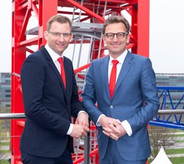 Strong support for the pack – WOLFFKRAN presents new Chief Technology Officer at bauma, the largest machinery trade fair in the world