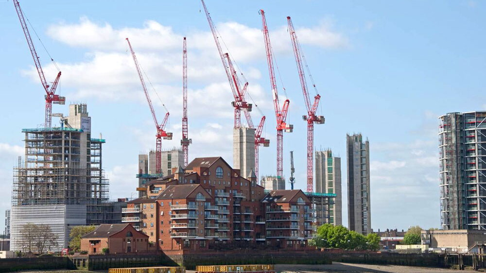Angleterre – Embassy Gardens, Nine Elms Development, London